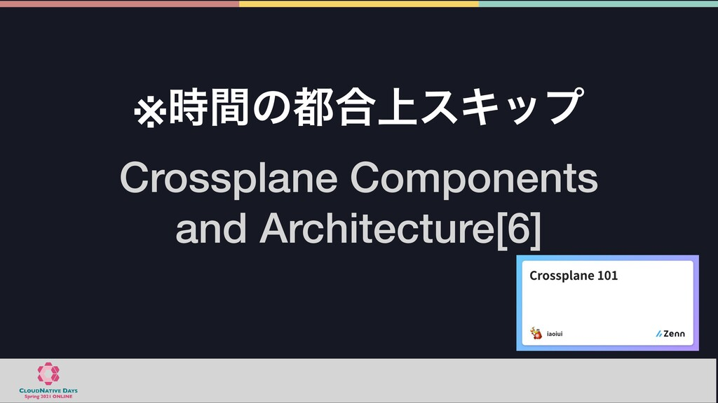 Crossplane Components  and Architecture[6] ※ؒ...