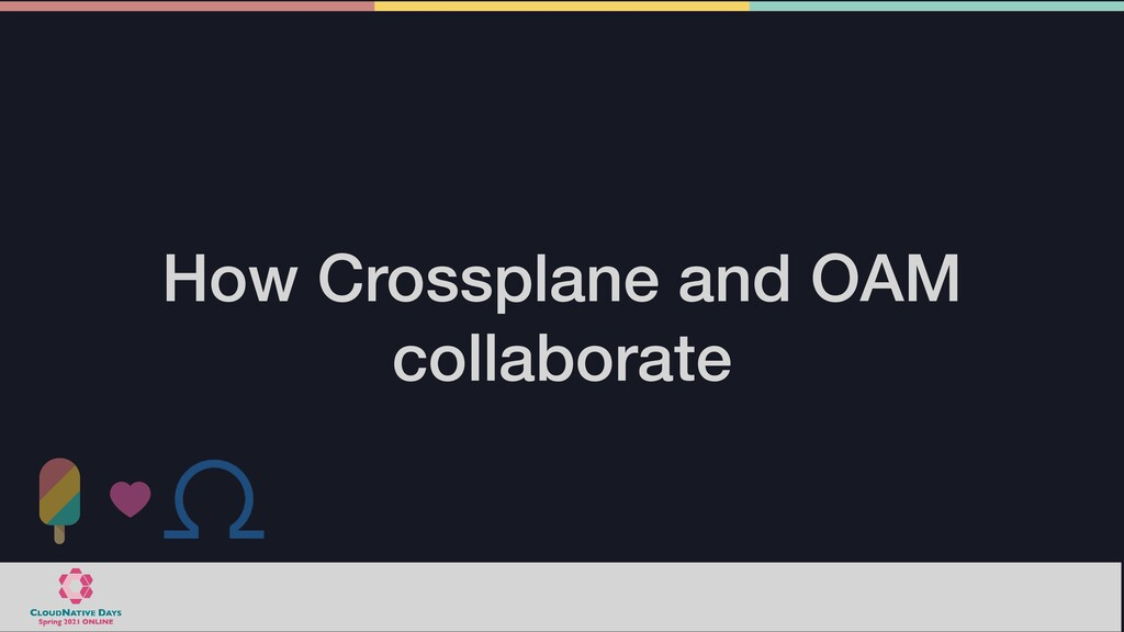 How Crossplane and OAM collaborate