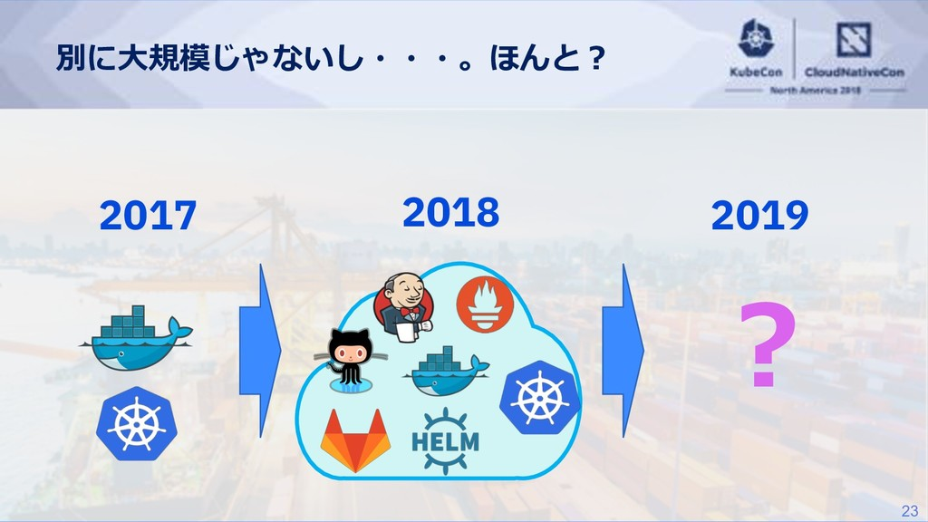 23  2019 2018 2017