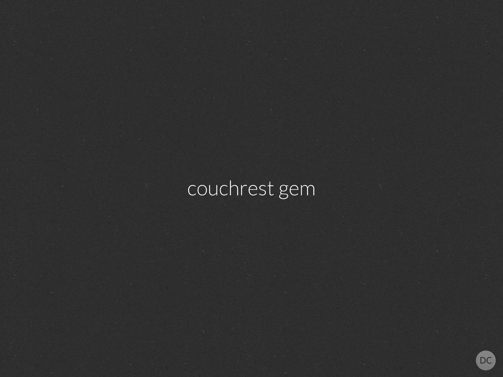 couchrest gem