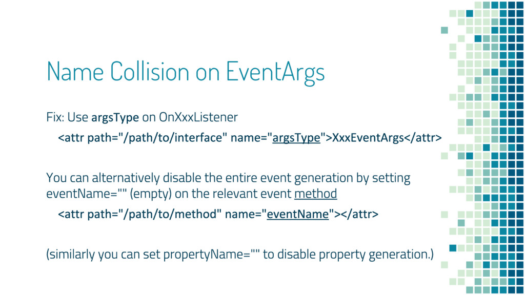 Name Collision on EventArgs