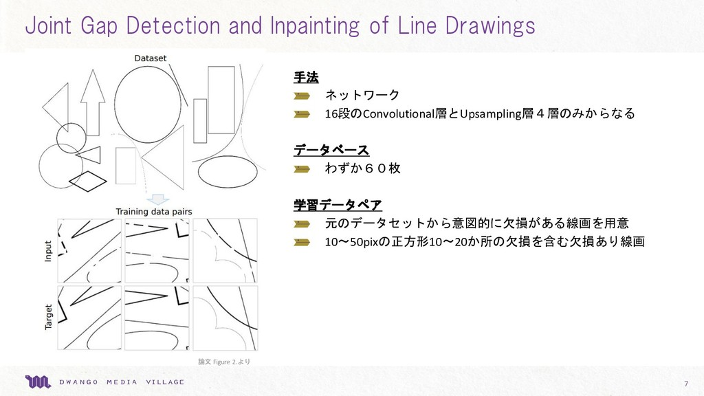 Joint Gap Detection and Inpainting of Line Draw...