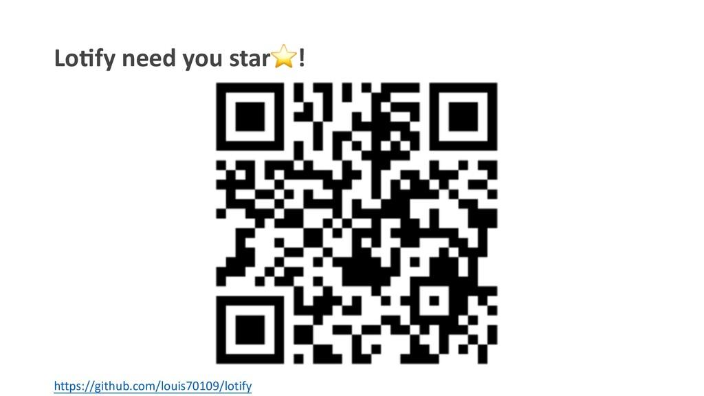 Lo#fy need you star⭐! https://github.com/louis7...