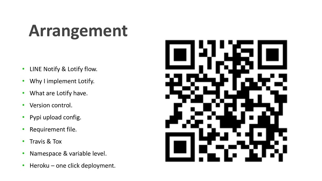 • LINE Notify & Lotify flow. • Why I implement ...