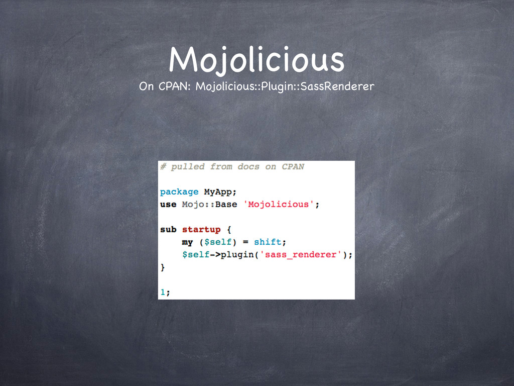 Mojolicious On CPAN: Mojolicious::Plugin::SassR...