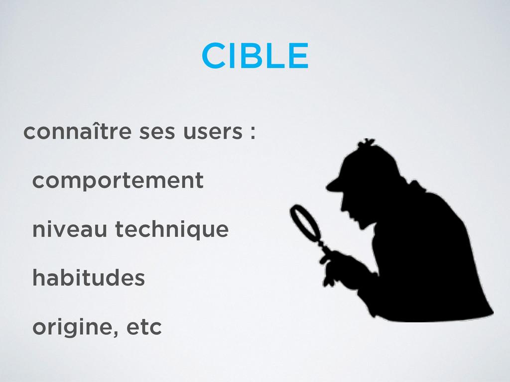 connaître ses users : comportement niveau techn...