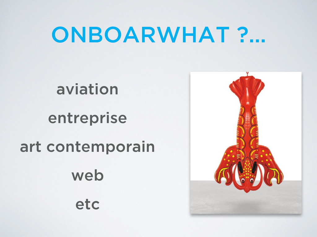 aviation entreprise web ONBOARWHAT ?… art conte...