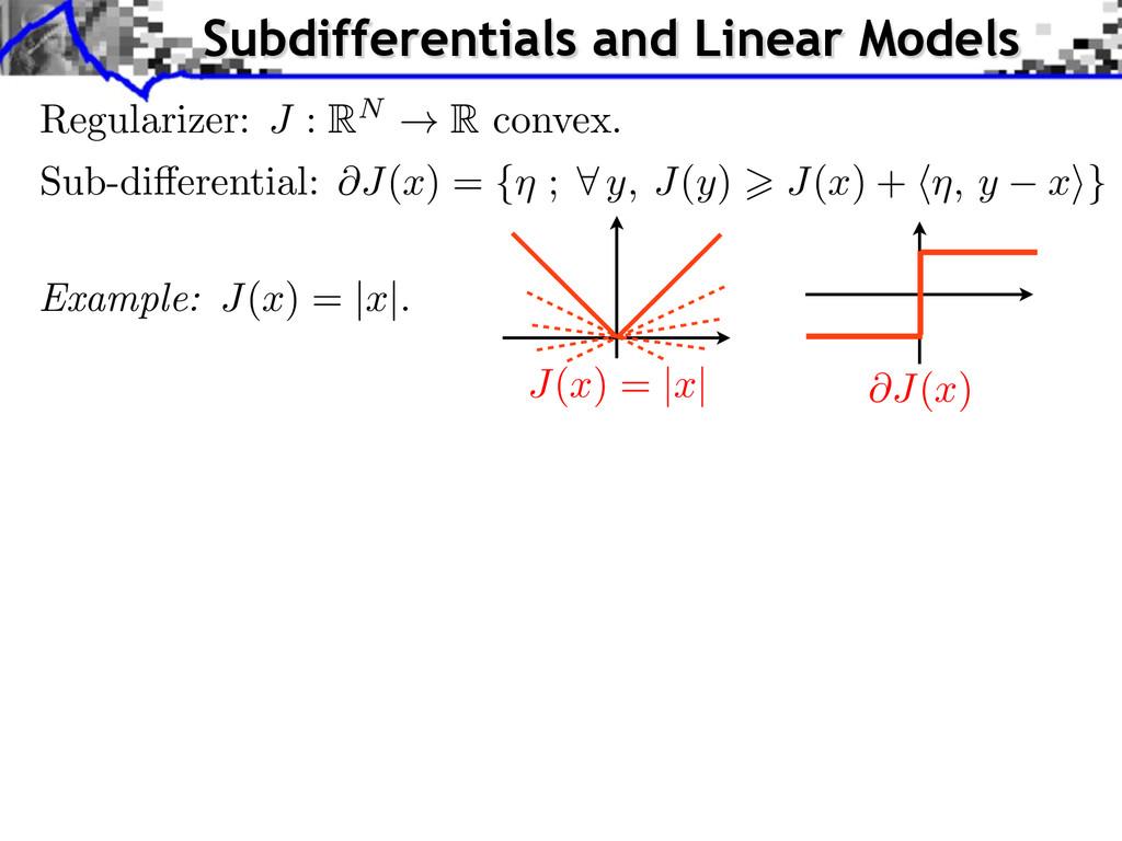 J ( x ) = | x | Example: J ( x ) = | x |. Subdi...