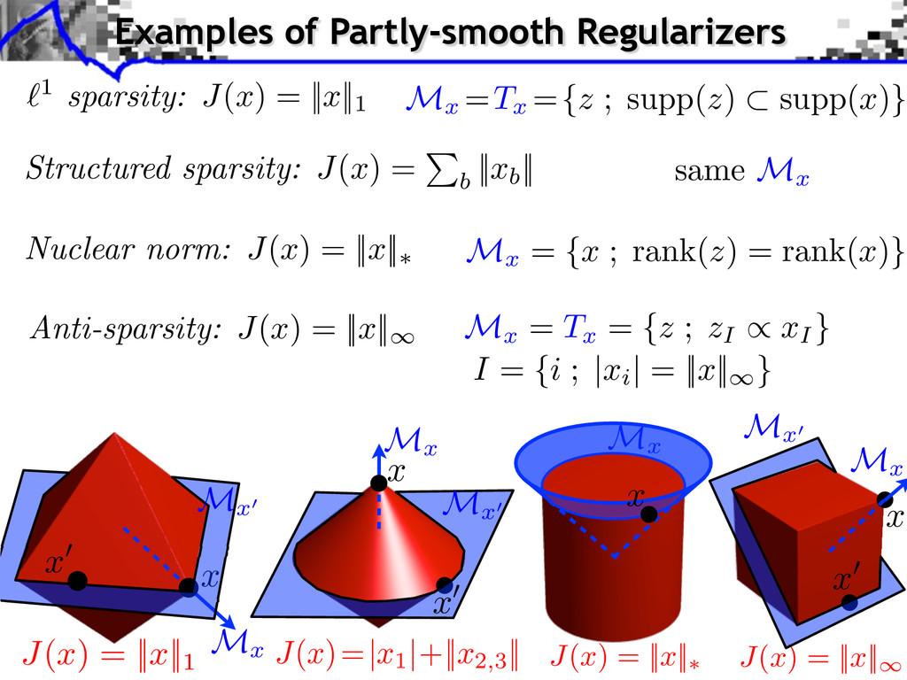 x M x M x = { x ; rank( z ) = rank( x )} same M...