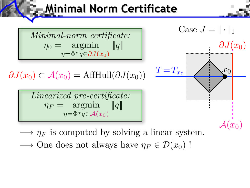 ! ⌘F is computed by solving a linear system. ! ...