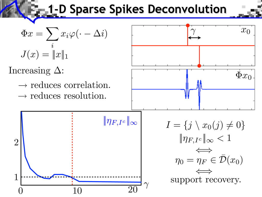 ⇥x = i xi (· i) Increasing : reduces correlatio...