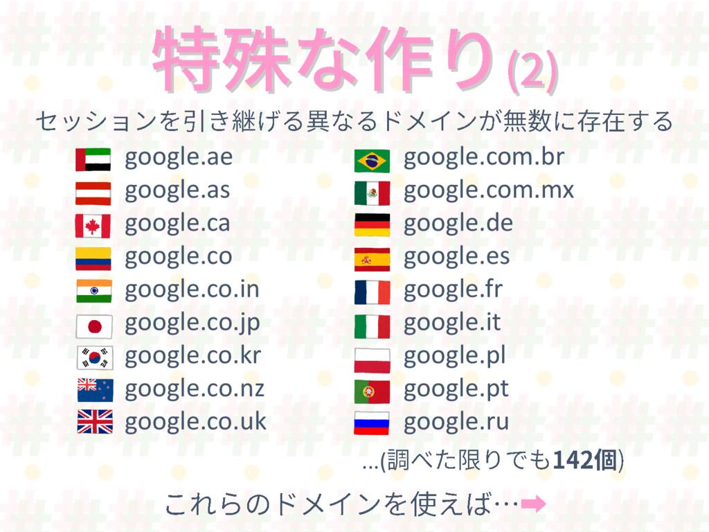 google.ae google.as google.ca google.co google....