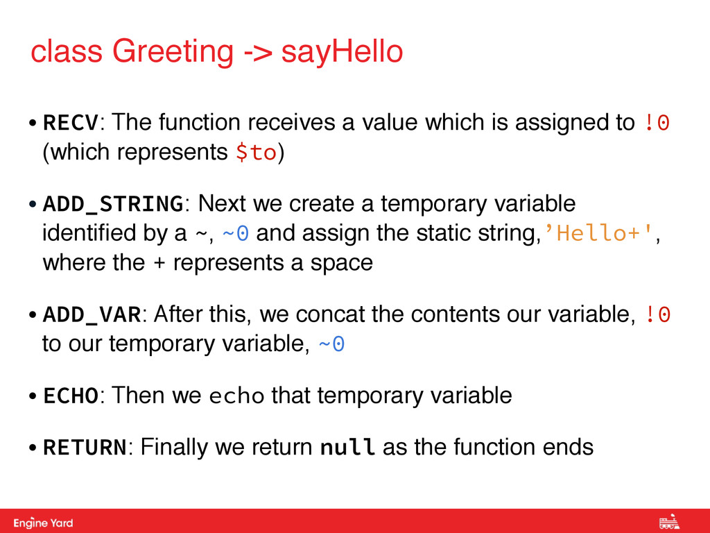 Proprietary and Confidential class Greeting -> ...