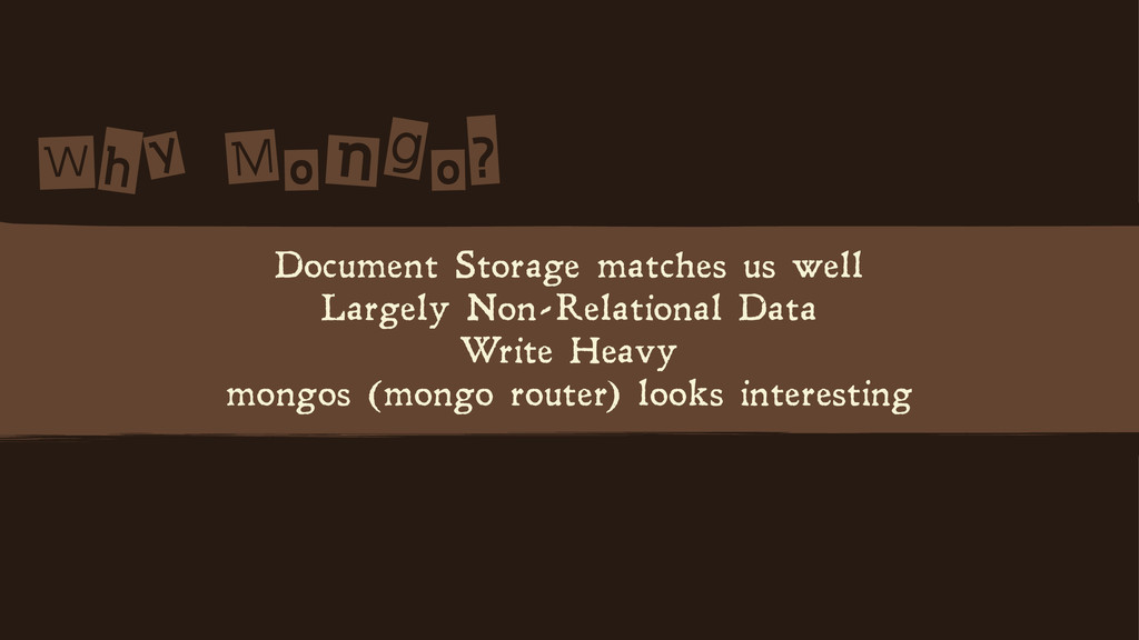 W n? Document Storage matches us well Lar...