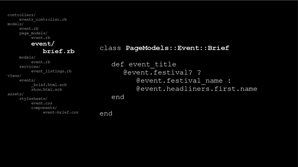 class PageModels::Event::Brief def event_title ...