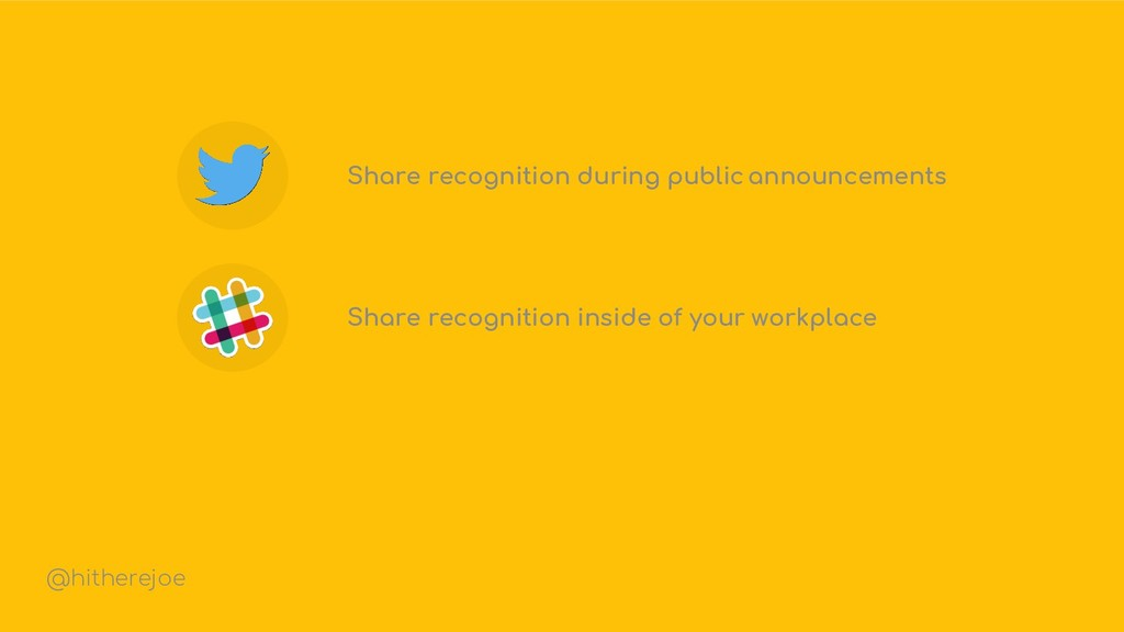 Share recognition during public announcements S...