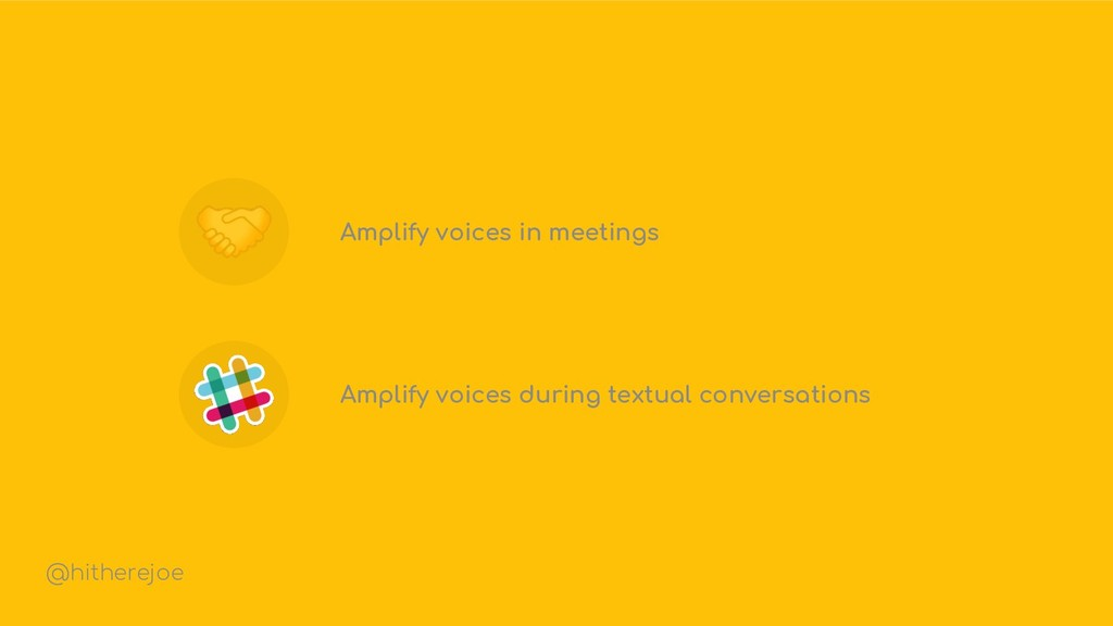 Amplify voices in meetings Amplify voices durin...