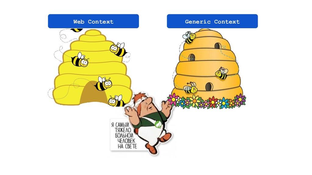 Web Context Generic Context