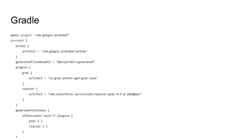 "Gradle apply plugin: ""com.google.protobuf"" prot..."