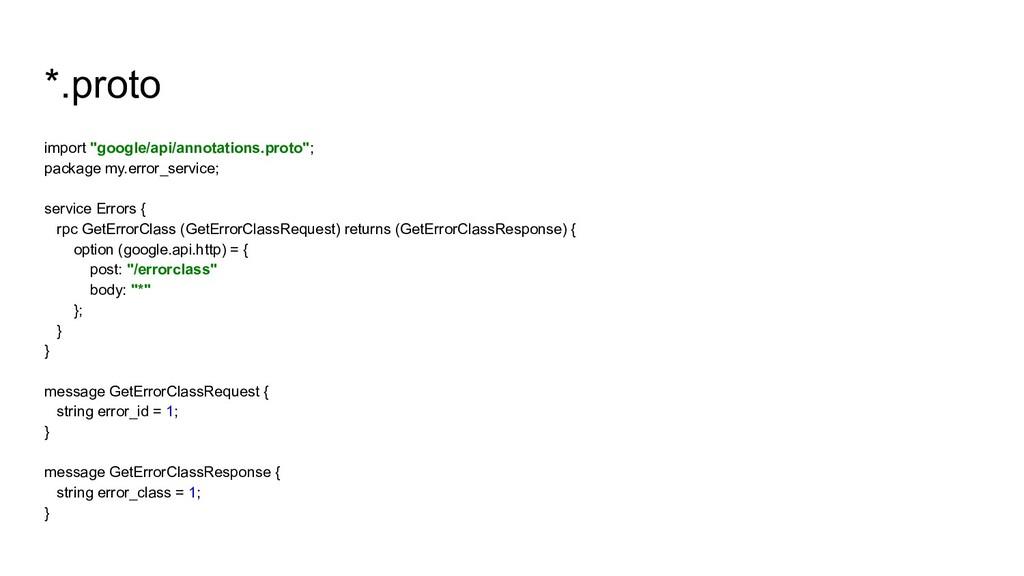 "*.proto import ""google/api/annotations.proto""; ..."
