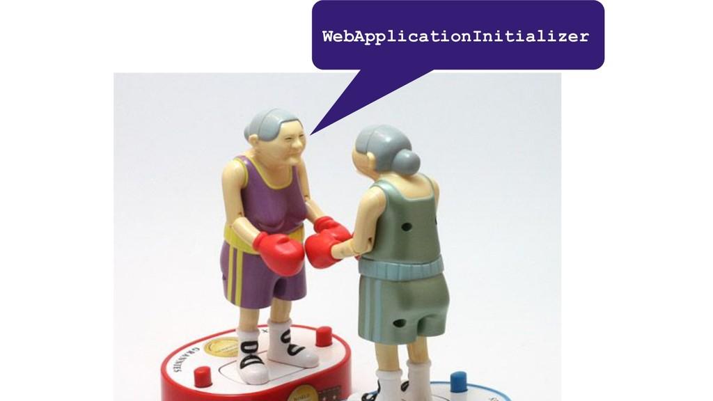 WebApplicationInitializer