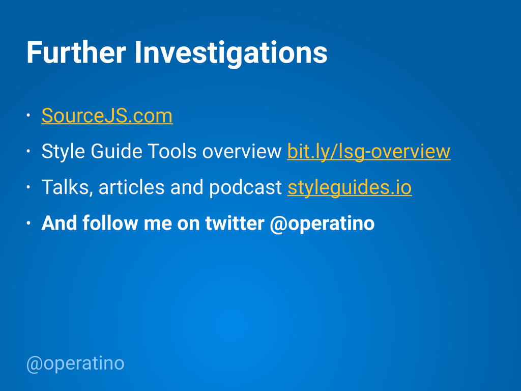 @operatino Further Investigations • SourceJS.co...