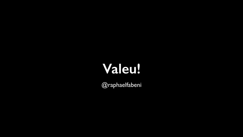 Valeu! @raphaelfabeni