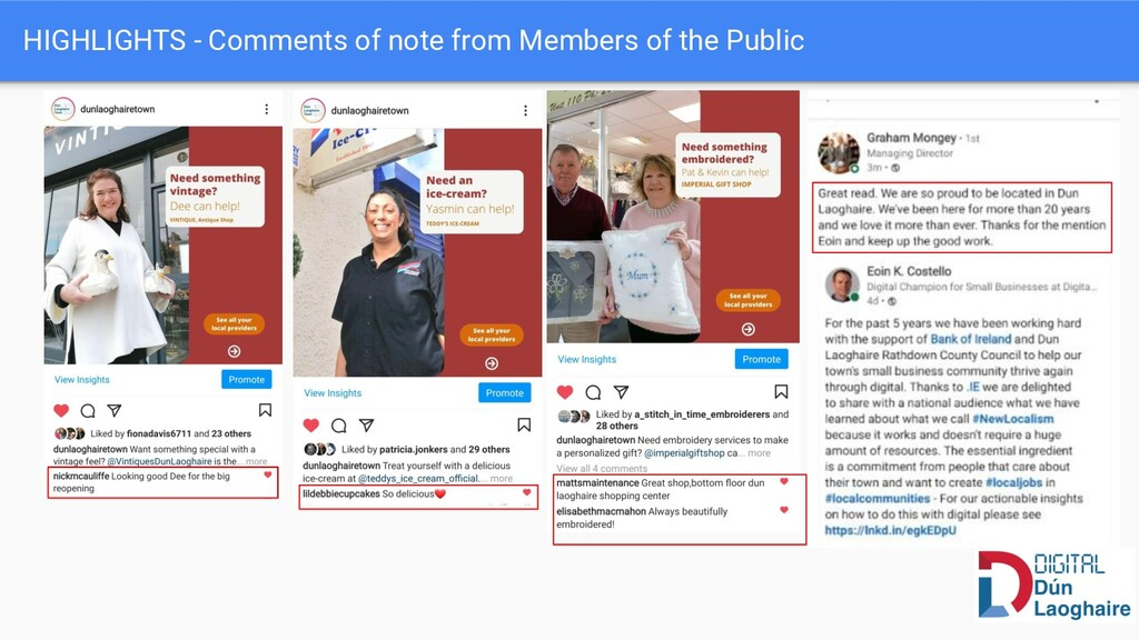HIGHLIGHTS - Comments of note from Members of t...