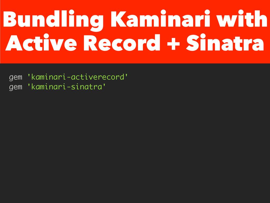 Bundling Kaminari with Active Record + Sinatra ...