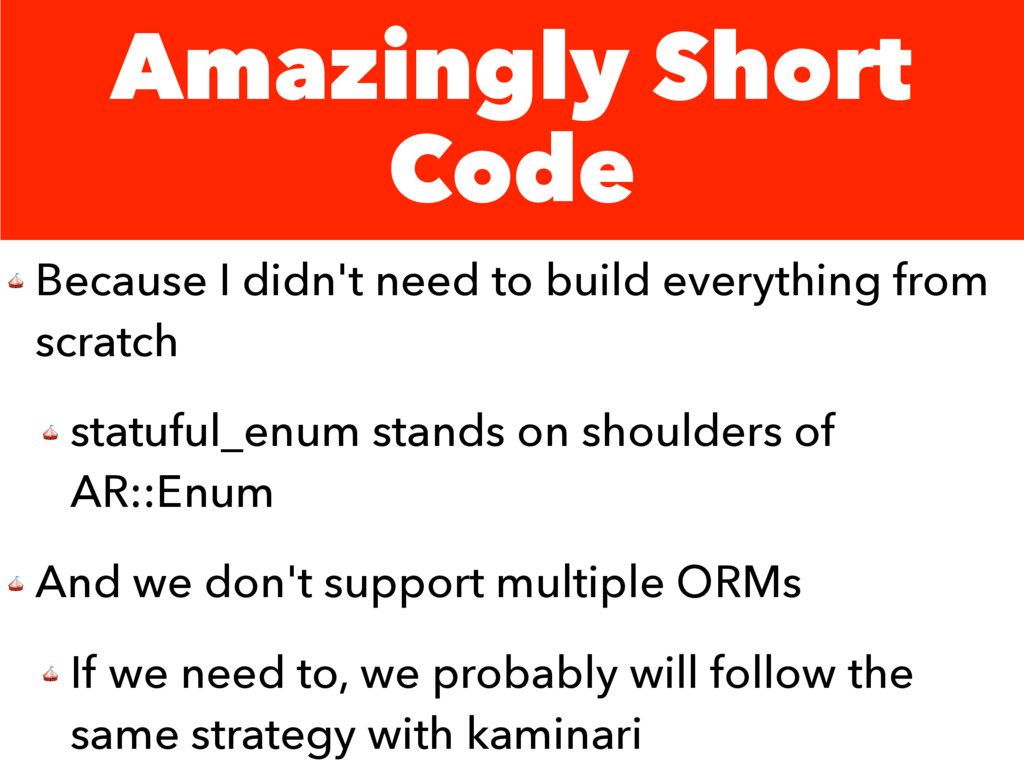 Amazingly Short Code  Because I didn't need to ...