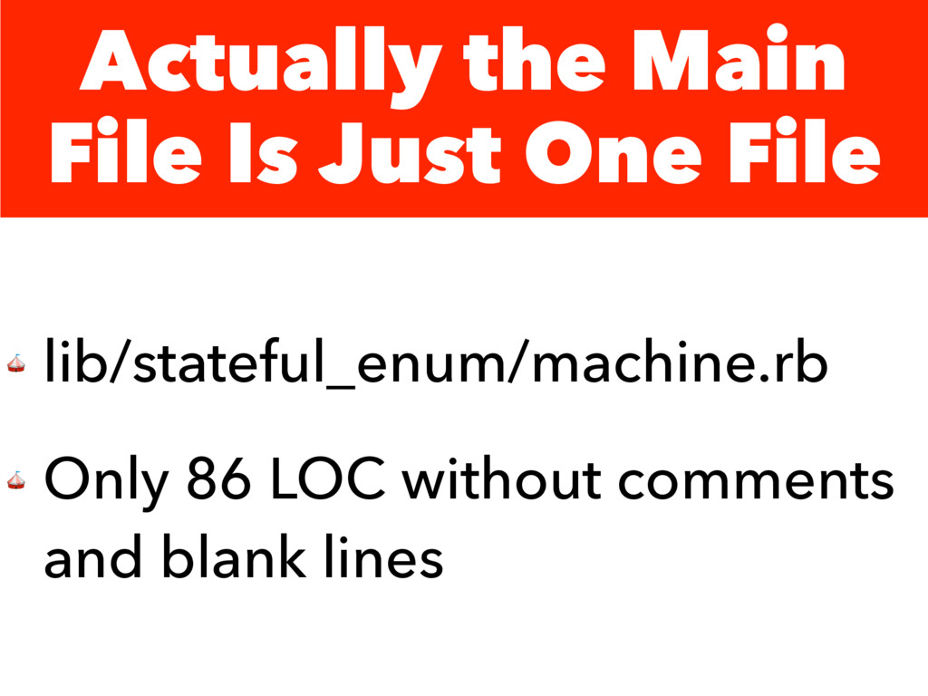 Actually the Main File Is Just One File  lib/st...