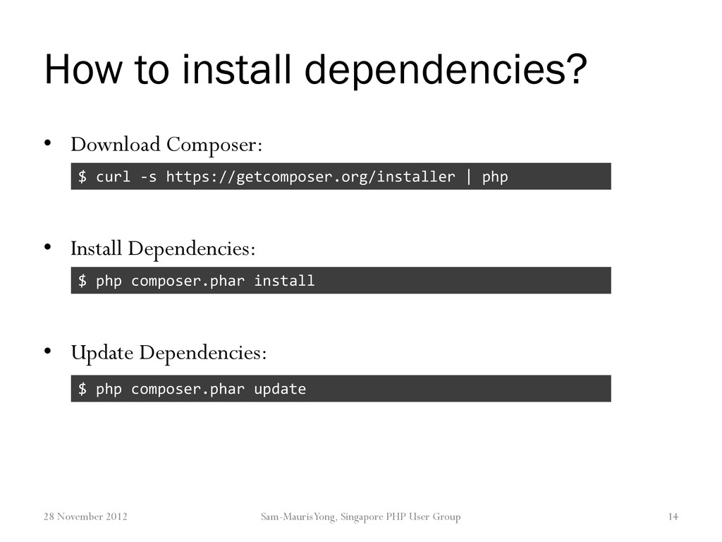 How to install dependencies? • Download Compose...