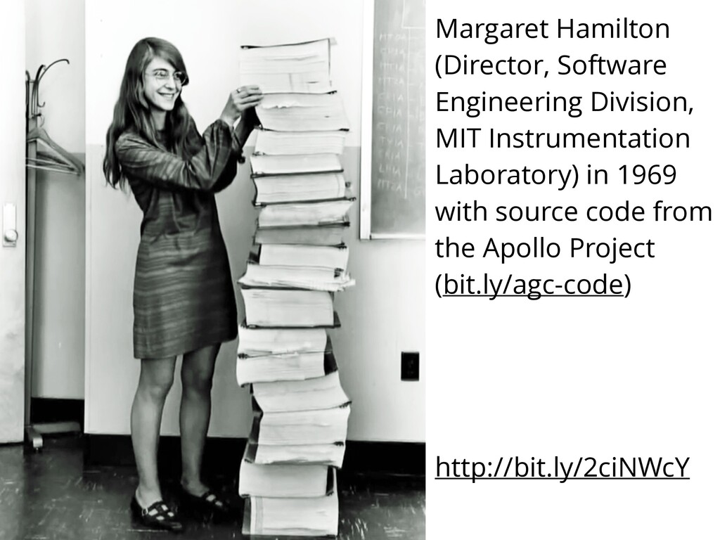 Margaret Hamilton (Director, Software Engineeri...
