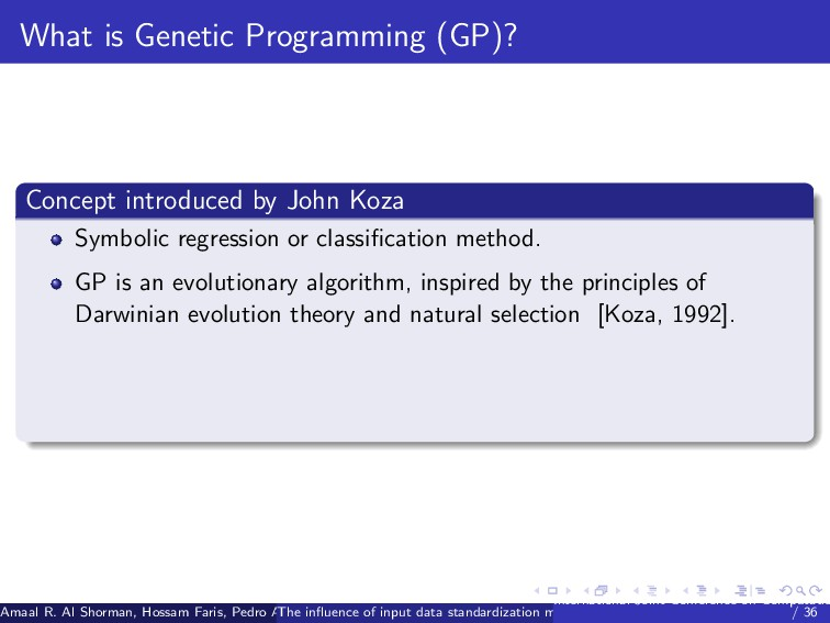 What is Genetic Programming (GP)? Concept intro...