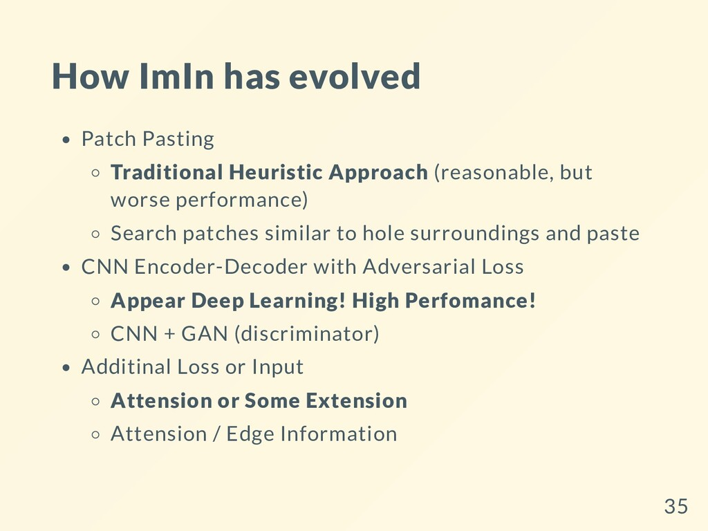 How ImIn has evolved Patch Pasting Traditional ...