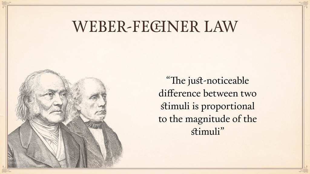 """""""The just-noticeable difference between two stimul..."""
