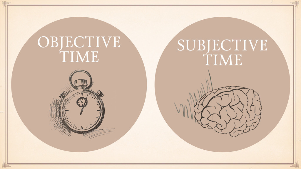 SUBJECTIVE TIME OBJECTIVE TIME