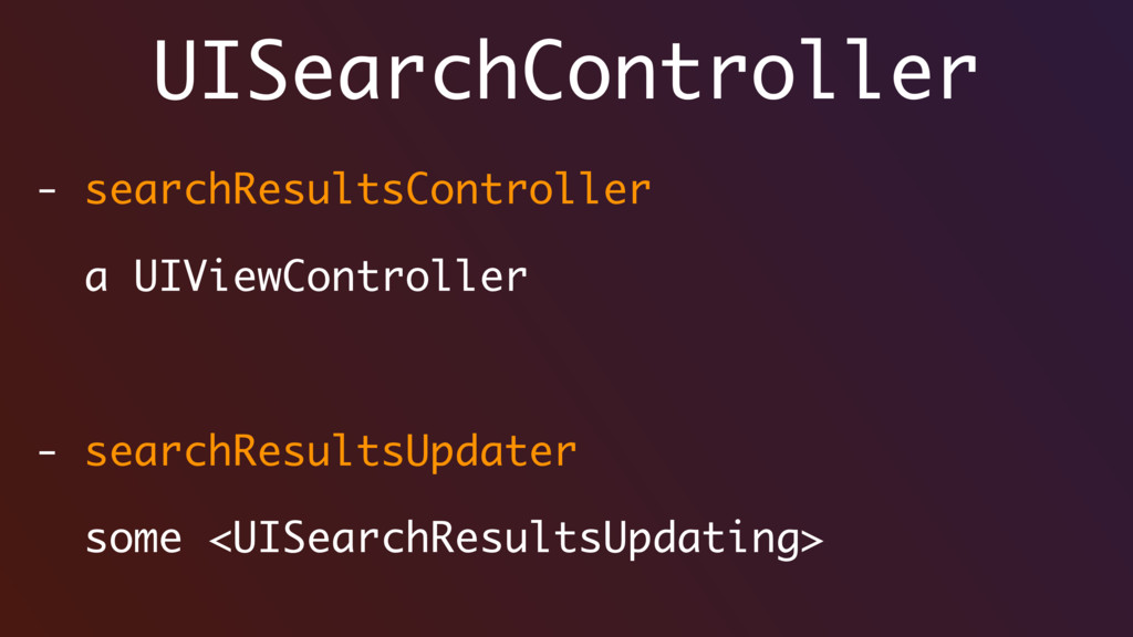UISearchController - searchResultsController a ...