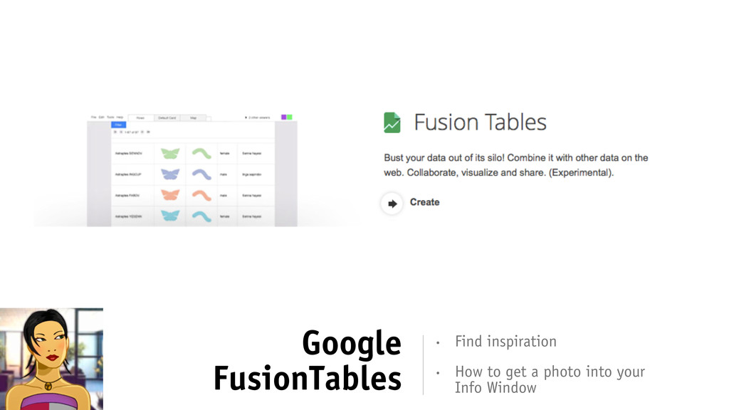 Google FusionTables • How to get a photo into y...