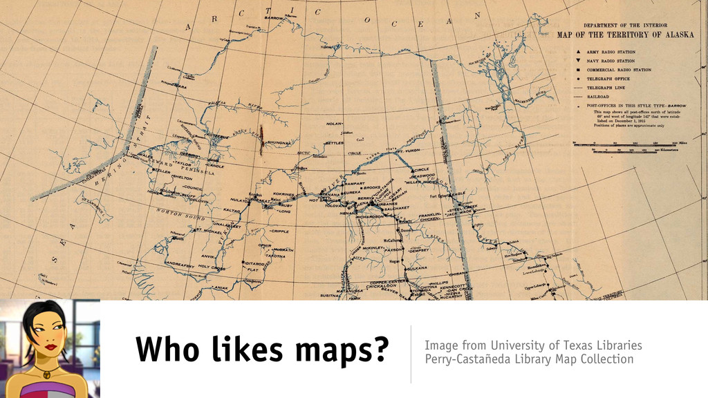 Who likes maps? Image from University of Texas ...