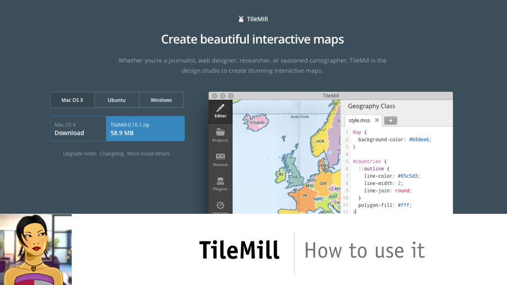 TileMill How to use it