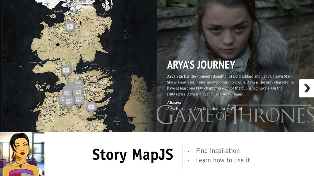 Story MapJS • Learn how to use it • Find inspir...