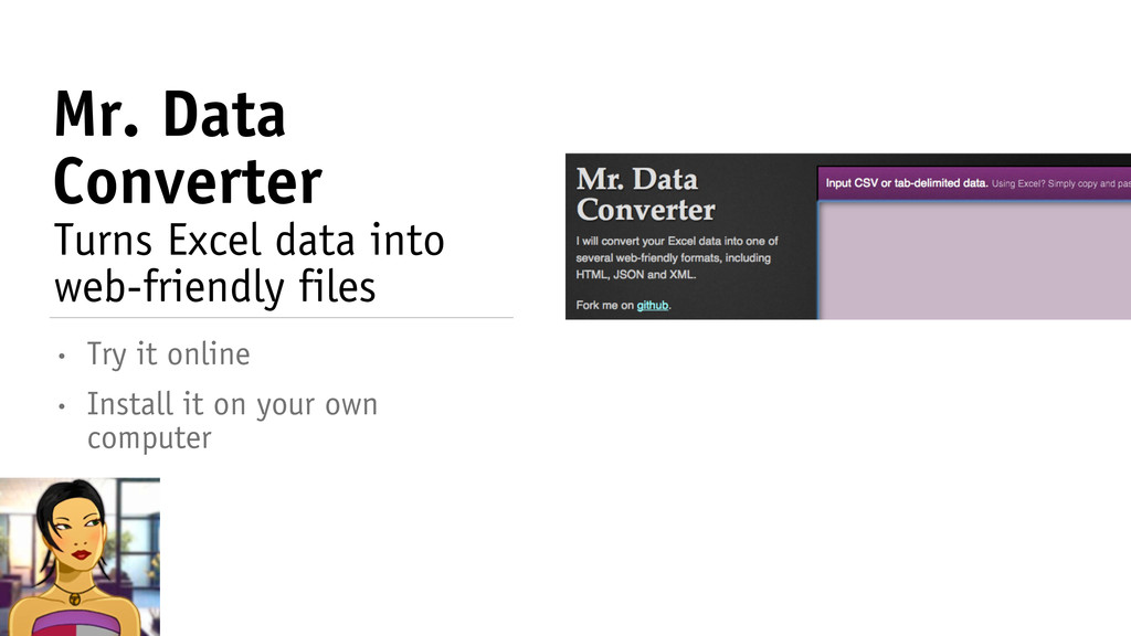 Mr. Data Converter • Install it on your own com...