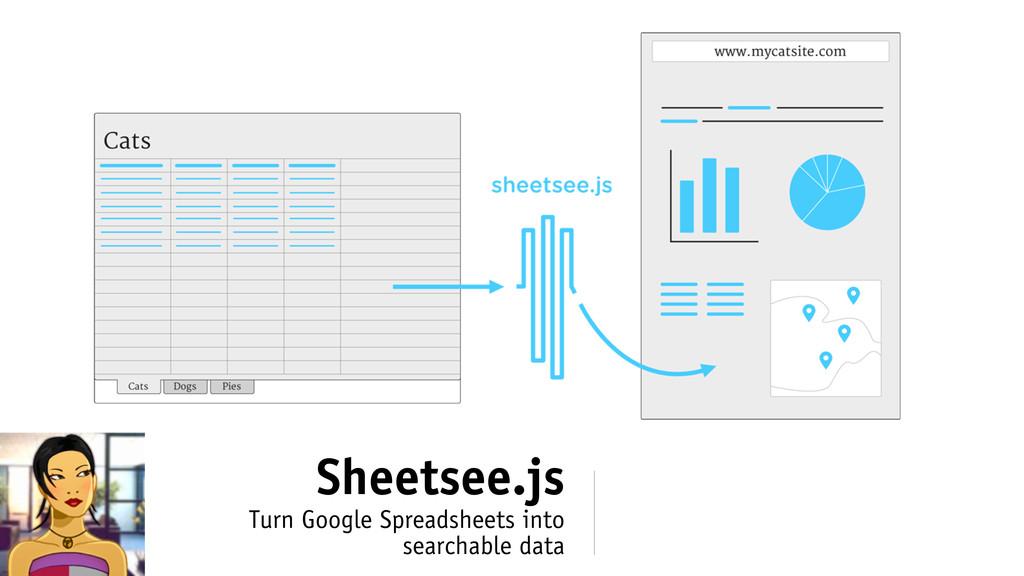 Sheetsee.js Turn Google Spreadsheets into searc...