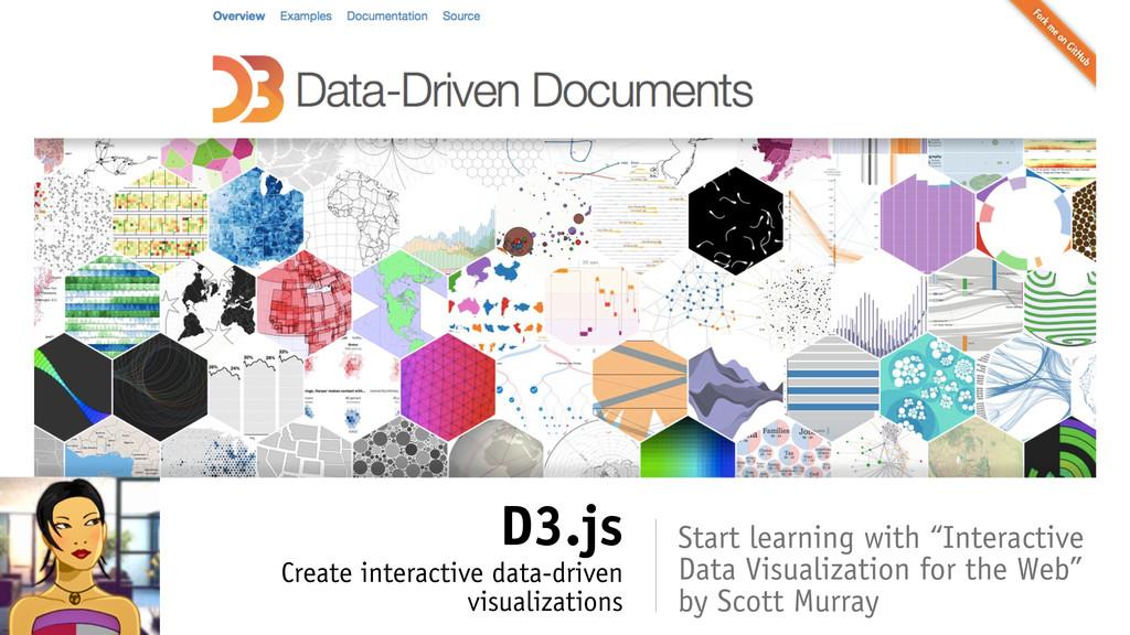 D3.js Create interactive data-driven visualizat...