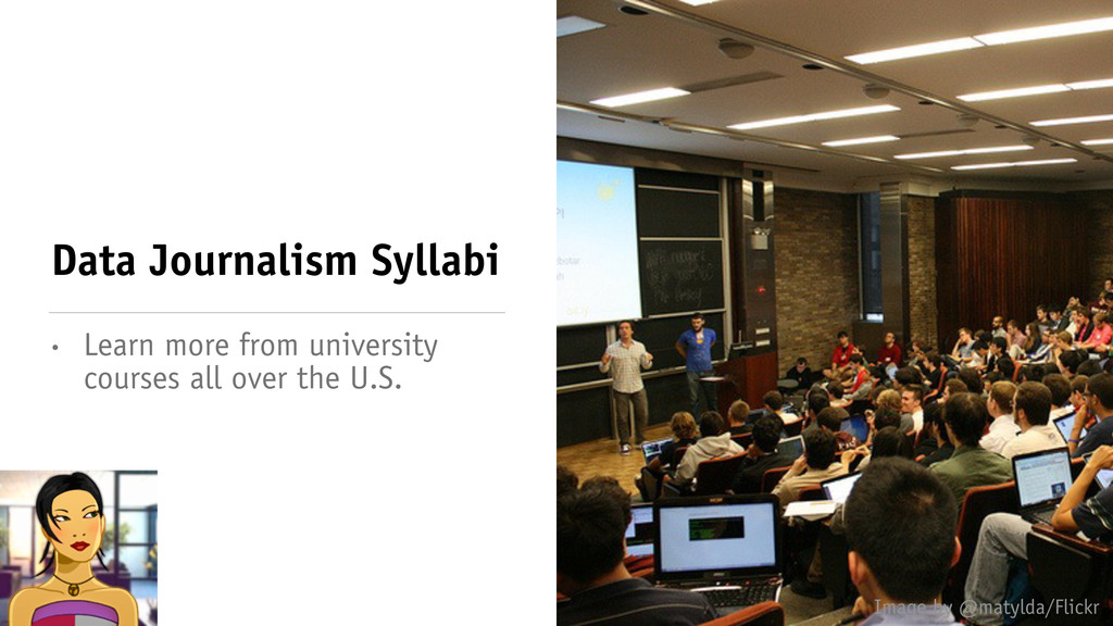 Data Journalism Syllabi • Learn more from unive...