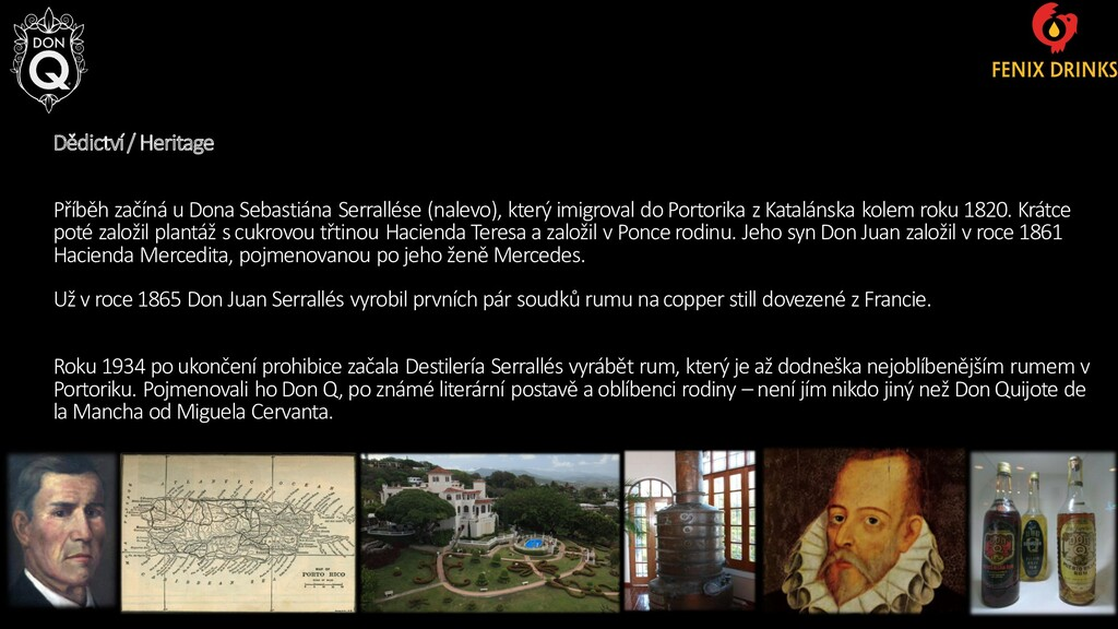 Dědictví / Heritage Příběh začíná u Dona Sebast...