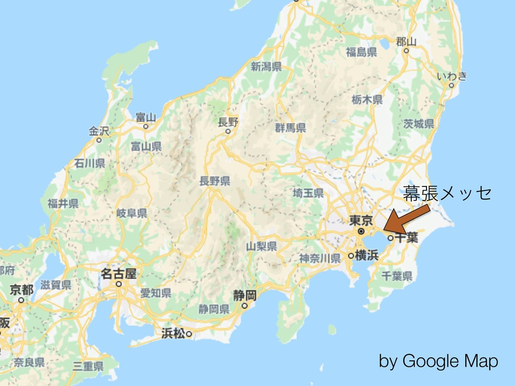 by Google Map ນுϝοη