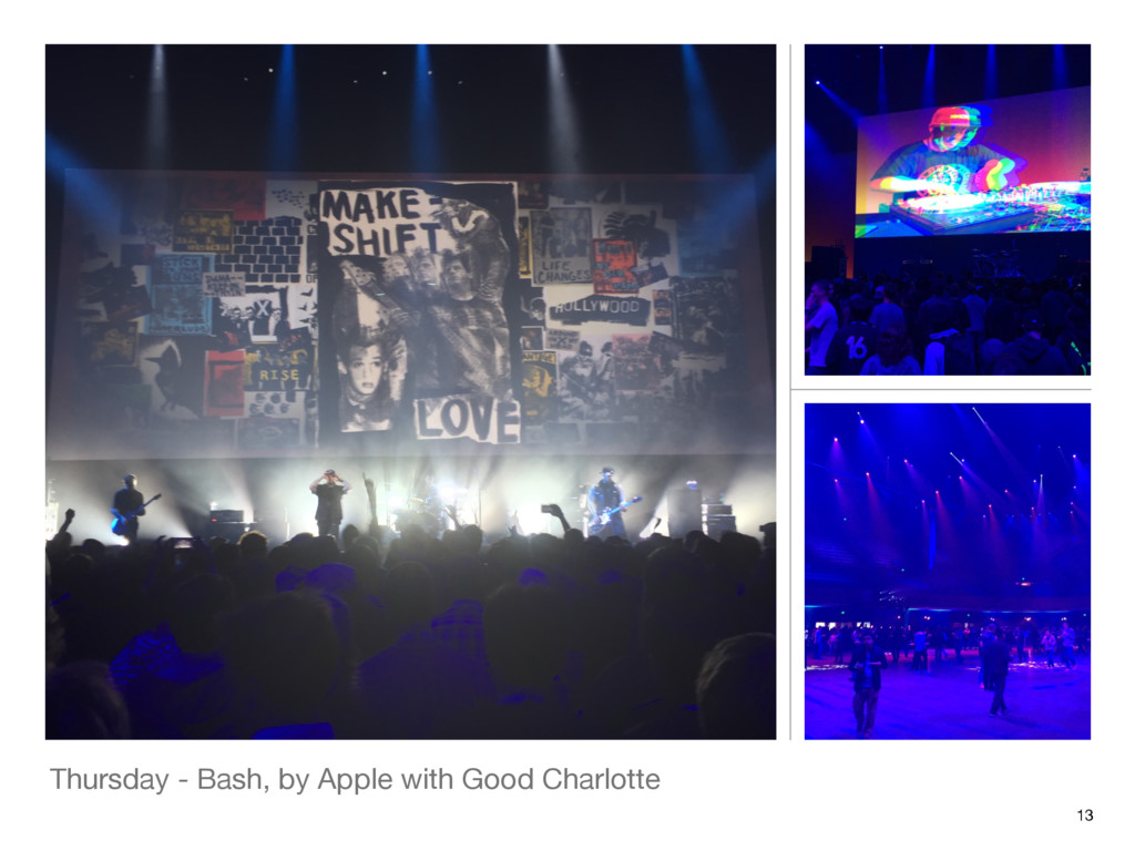 Thursday - Bash, by Apple with Good Charlotte 13