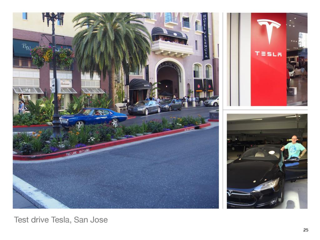 Test drive Tesla, San Jose 25